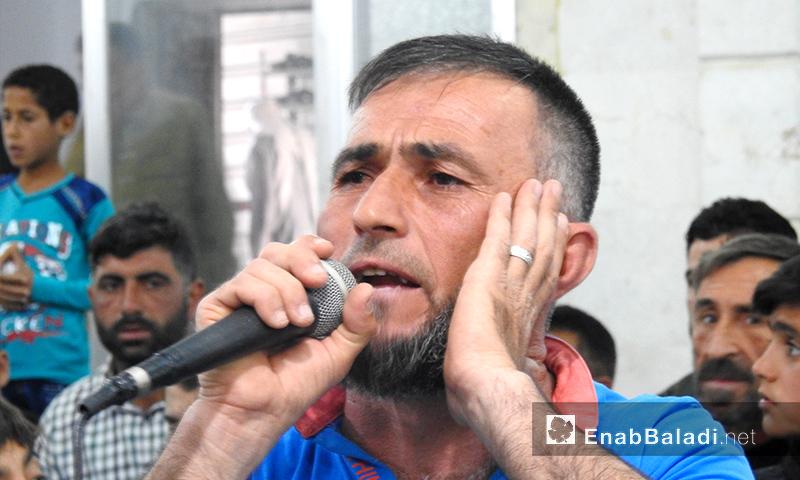 تكبيرات عيد الفطر في بلدة دابق شمال شرق حلب- 4 من حزيران2019 (عنب بلدي)