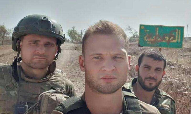 """مراسل وكالة """"ANNA"""" الروسية في بلدة القصابية بريف إدلب الجنوبي (ANNA)"""