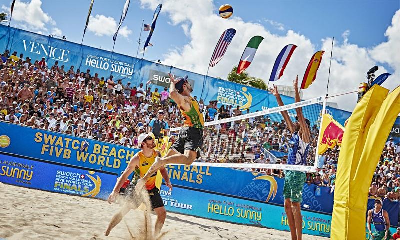 نهائيات مسابقة البرازيل لكرة اليد الشاطئية (REDBUL)