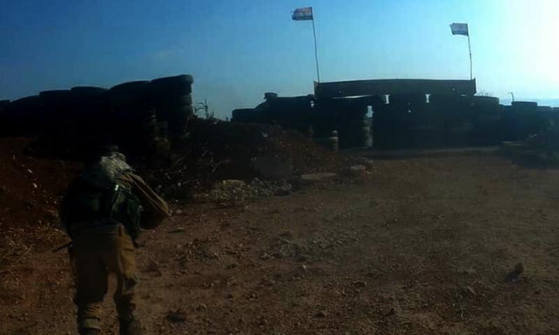 """عملية عسكرية لغرفة عمليات """"وحرض المؤمنين"""" بريف حماة الشمالي (وحرض المؤمنين تلغرام)"""