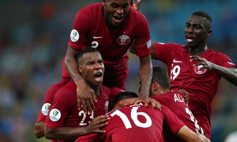 المنتخب القطري يتعادل مع منتخب البارغواي في بطولة كوبا أمريكا (الاتحاد القطري)