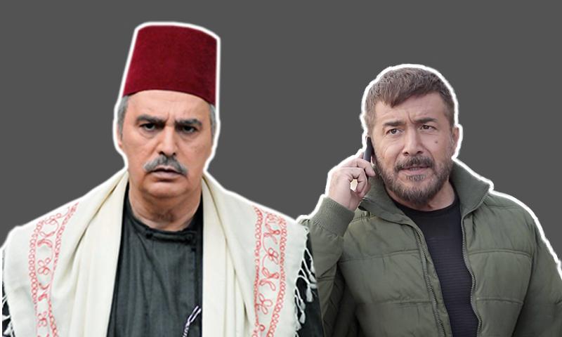 الممثل عابد فهد وعصام النوري (تعديل عنب بلدي)