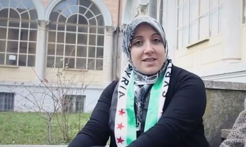 أسماء دشان الصحافية السورية الإيطالية (إنترنيت)