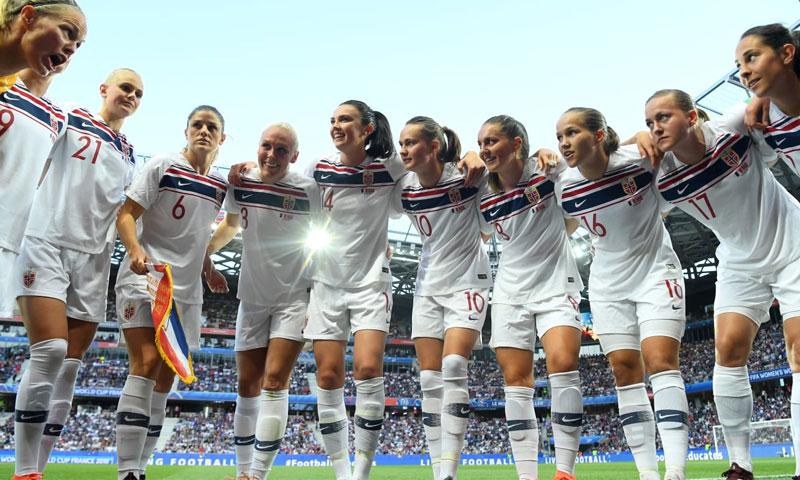 منتخب النرويج كأس العالم 2019 (Getty)