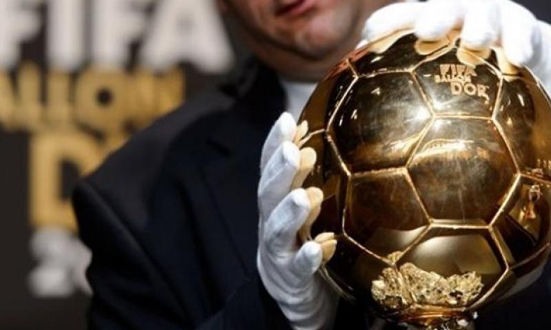 الكرة الذهبية في حفل توزيع الجوائز عام 2017 (FIFA)