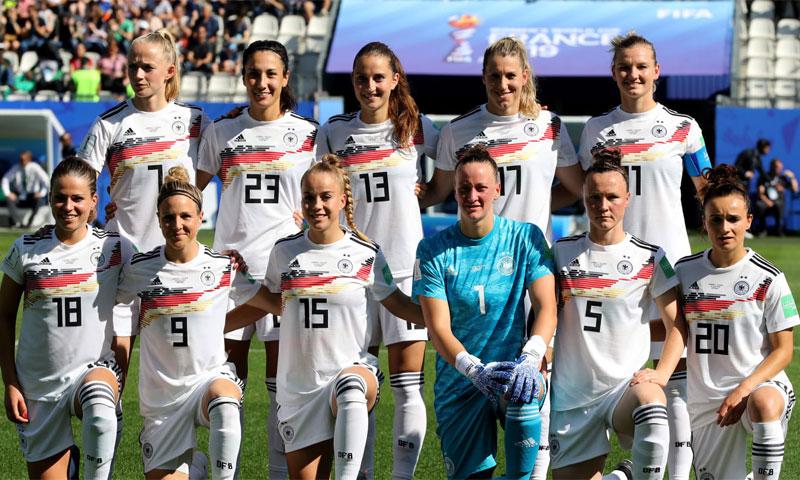 منتخب ألمانيا في كأس العالم 2019 (Getty)