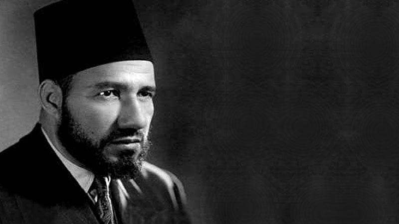 حسن البنا مؤسس جماعة الإخوان المسلمين (إنترنت)