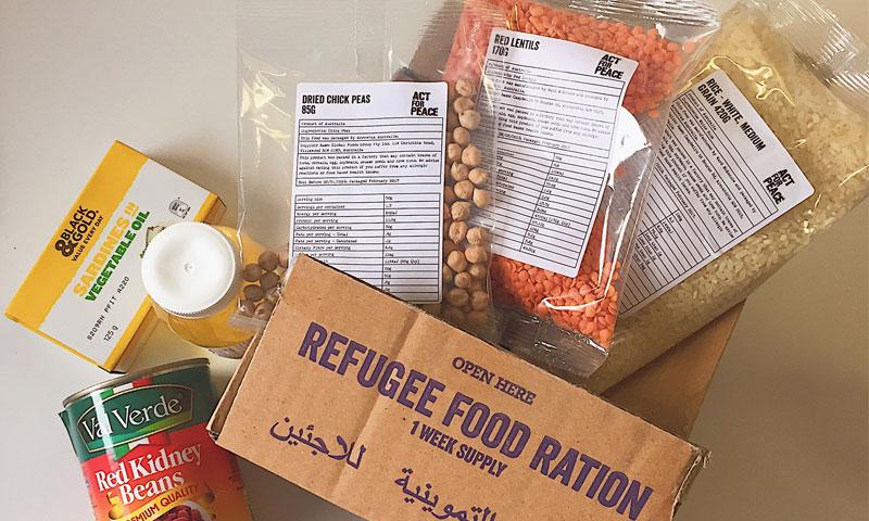 الحصة التموينية للاجئين السوريين (تحدي الحصص)