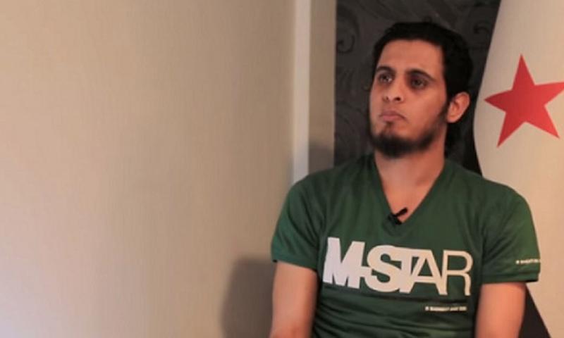 """حارس الثورة السورية والقيادي في """"جيش العزة"""" عبد الباسط الساروت - (فيس بوك)"""