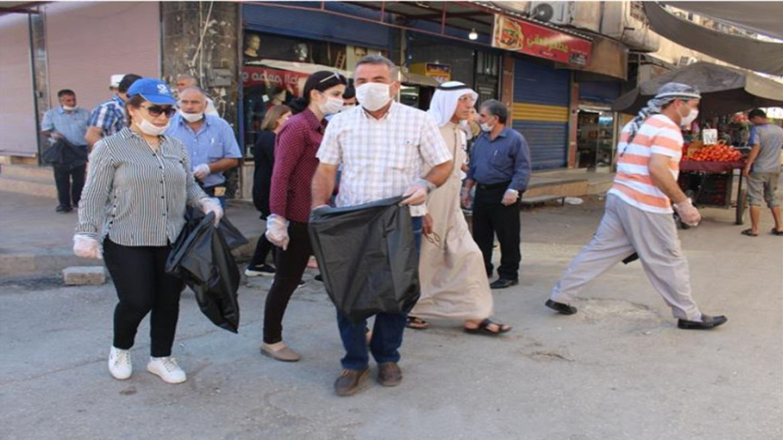 الإدارة الذاتية تطلق حملة نظافة في منطقة الجزيرة، موقع روناهي، 2019