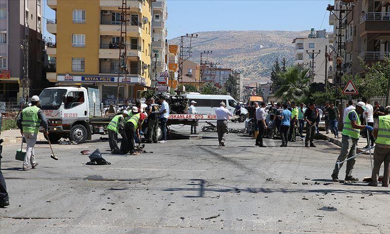 موقع تفجير الريحانية جنوبي تركيا (الأناضول)