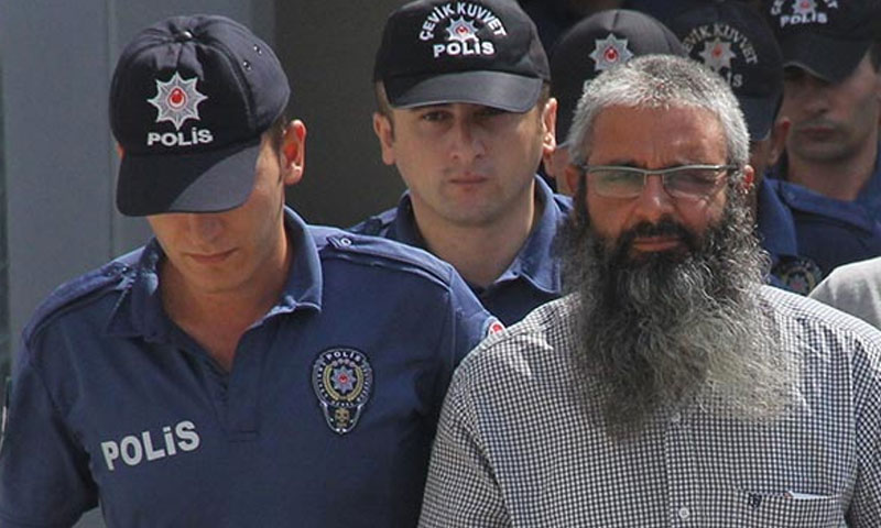 """الشرطة التركية تلقي القبض على شخص يصف نفسه بـ """"أمير لتنظيم الدولة في أضنة"""" - 11 تموز 2019 (IHA)"""