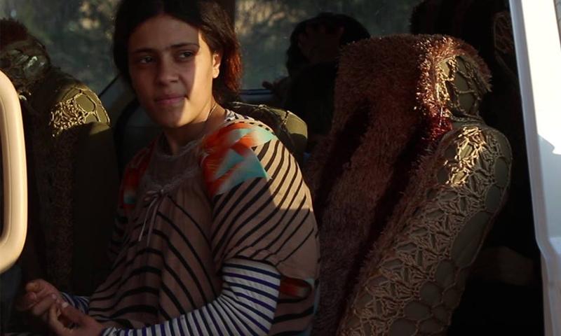 """أيزيدية ناجية من تنظيم """"الدولة الإسلامية""""، المصدر موقع """"سوريون من أجل الحقيقة والعدالة""""، 2019"""