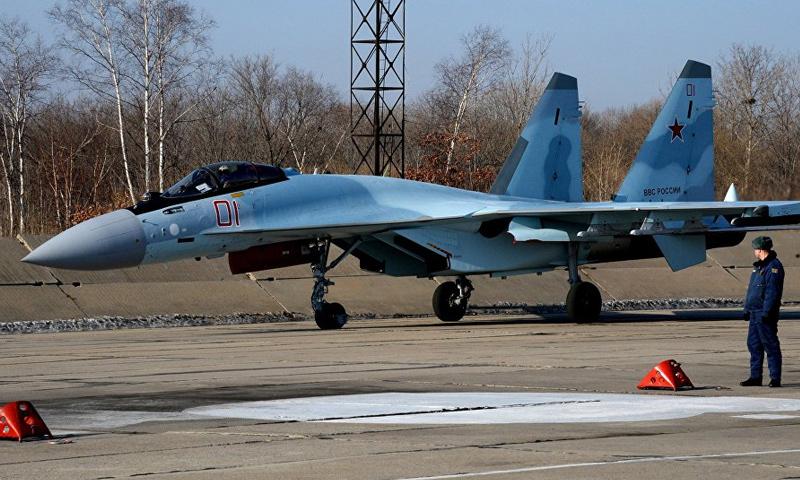 طائرة سوخوي 35 الروسية - (انترنت)