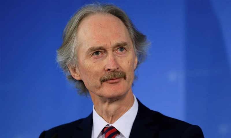 مبعوث الأمم المتحدة إلى سوريا، غير بيدرسون (تاس)