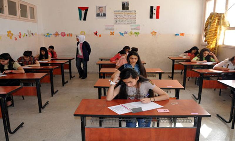 امتحانات التعليم الأساسي في سوريا (سانا)