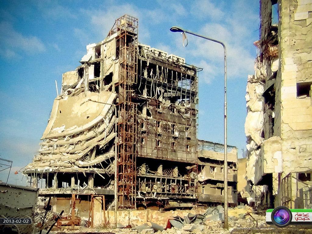 مول رجوب في حمص - 2 شباط 2013 (عدسة حمص/ فليكر)