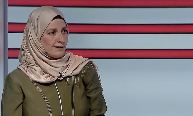 شيماء البوطي في لقاء تلفزيوني