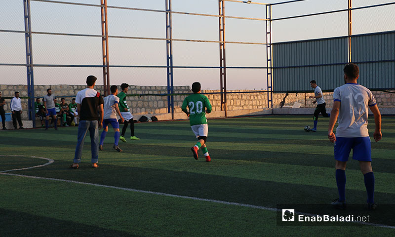 بطولة كروية في ريف حلب الشمالي والشرقي تكريمًا للشهيد عبد الباسط الساروت  7 تموز 2019 (عنب بلدي)