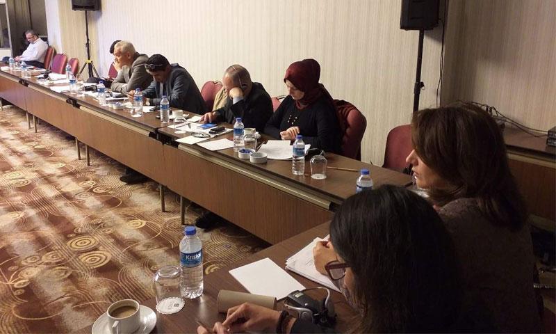 شيماء البوطي رئيسة تجمع سنا