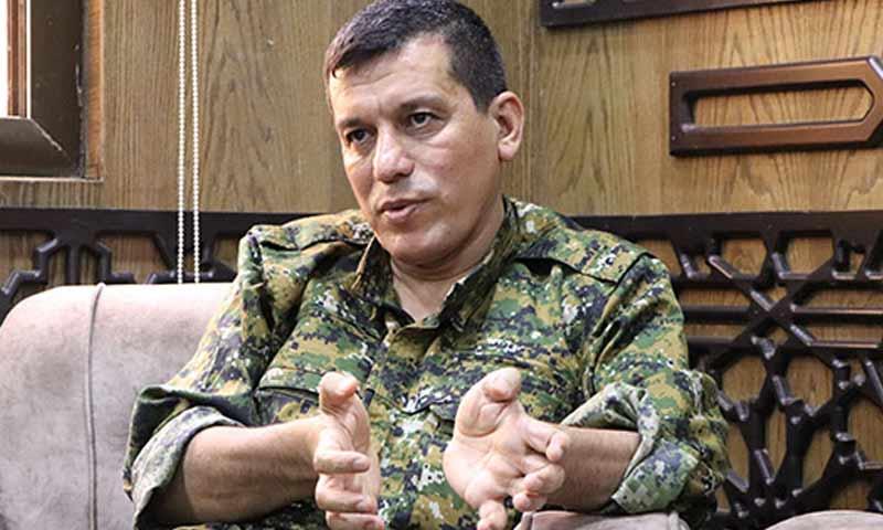 """القائد العام لـ """"قوات سوريا الديمقراطية"""" (قسد) مظلوم عبدي (yeniozgurpolitika)"""