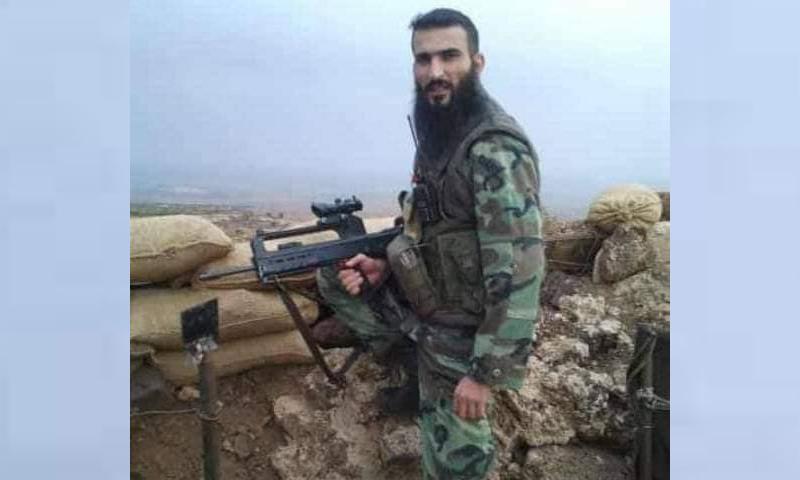 القيادي في حزب الله جنوب سوريا مشهور زيدان - (فيس بوك)