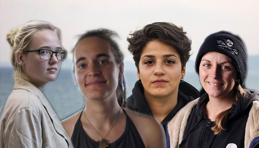 بيا كليمب وسارة مارديني وكارولا داكيتا وإيلين إرسون (تعديل عنب بلدي)