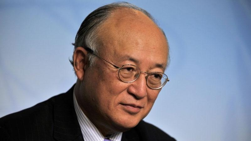 المدير العام لوكالة الطاقة الذرية يوكيا أمانو