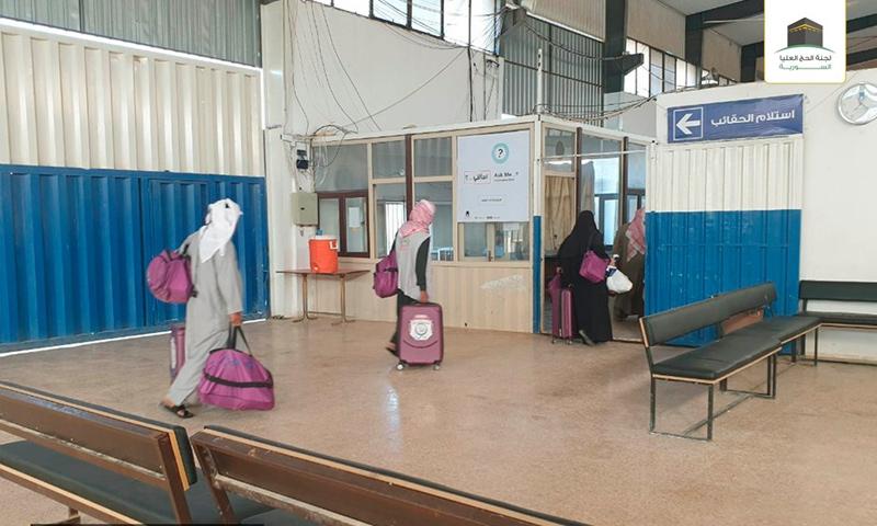 بدء دخول الحجاج السوريين عبر معبر باب الهوى إلى تركيا استعدادًا للتوجه إلى مكة - 22 من تموز 2019 (لجنة الحج العليا)