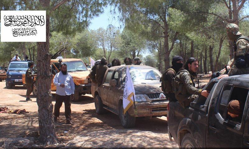 تعزيزات من كتائب الفتح تصل ريف حماة الغربي - 19 من تموز 2019 (كتائب الفتح)