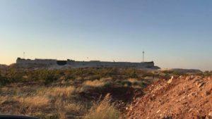 نقطة المراقبة التركية في مورك بريف حماة- 23 من آب 2019 (Oleg Blokhin)