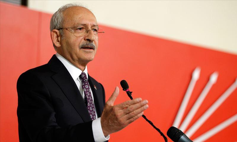 """كمال كيلشدار أوغلو، زعيم حزب """"الشعب الجمهوري"""" التركي المعارض (الأناضول)"""