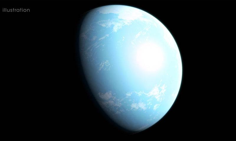 الشكل المحتمل لكوكب GJ 357d - 31 تموز 2019 (ناسا)