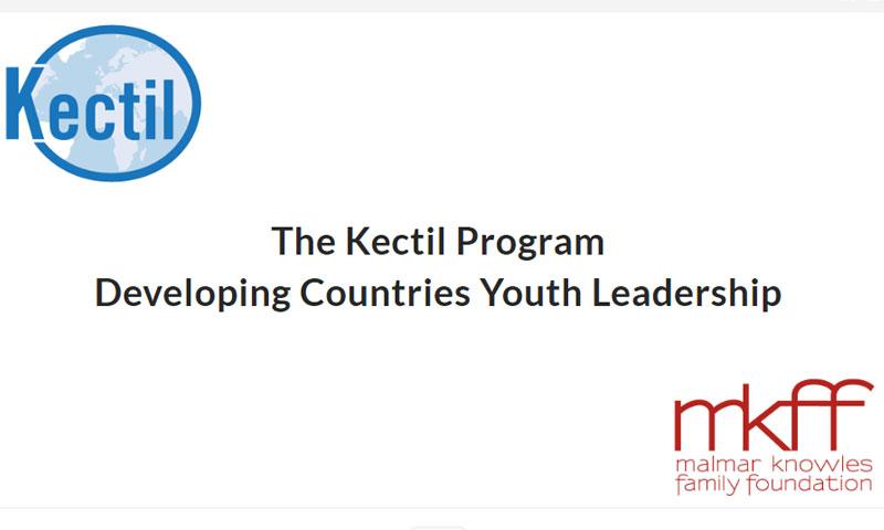 """برنامج """"كيكتيل"""" للقادة الشباب في الدول النامية"""