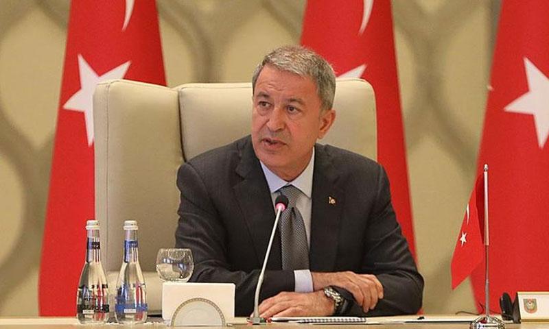 وزير الدفاع التركي خلوصي أكار (TRT)
