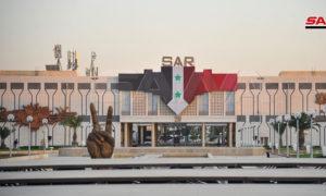 معرض دمشق الدولي في العاصمة السورية، دمشق - آب 2019 (وكالة سانا)