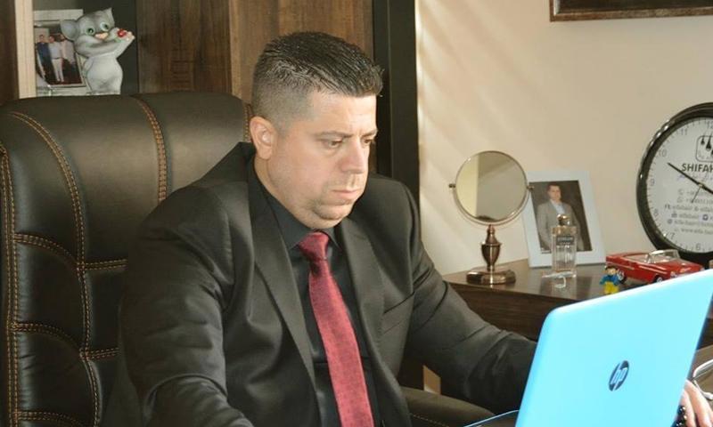 رجل الأعمال السوري عبد الله الحمصي (عبد الله الحمصي فيس بوك)
