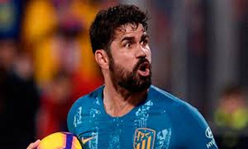 المهاجم الاسباني دييغو كوستا-لاعب اتلتيكو مدريد