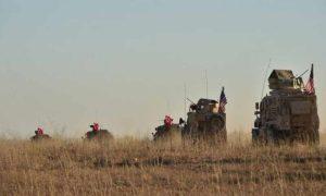 مدرعات عسكرية تابعة لتركيا والولايات المتحدة الأمريكية (الأناضول)