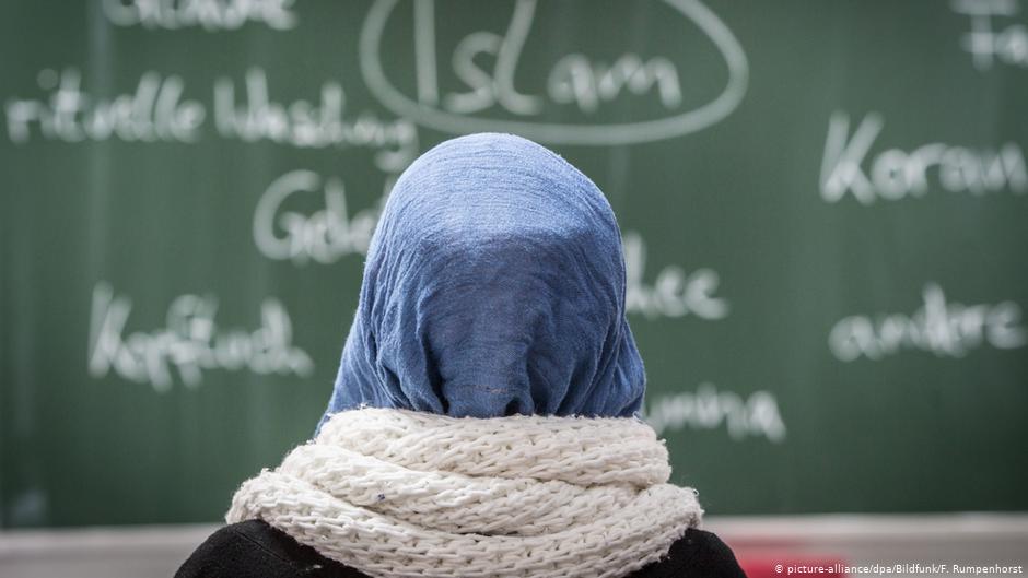 فتاة محجبة في مدرسة ألمانية، 2019، موقع DW