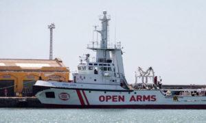 سفينة open arms (Ansa)