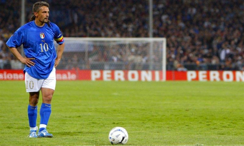 اللاعب الإيطالي روبرتو باجيو (Insidefoto)