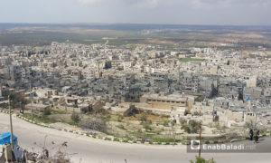 قرية الأربعين في ريف حماة الشمالي (عنب بلدي)