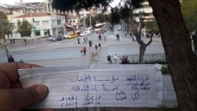 """رسالة وجهها شخص قالت السلطات التركية إنه سوري لزعيم تنظيم """"الدولة"""" أبو بكر البغدادي (خبر تورك)"""