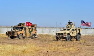 دورية أمريكية- تركية شرق الفرات في سوريا- 24 أيلول 2019 (الدفاع التركية)