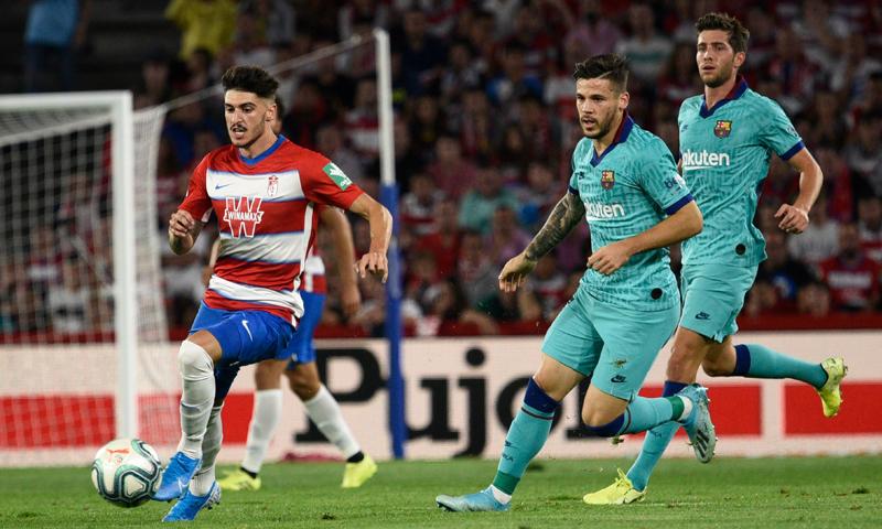 برشلونة يسقط أمام غرناطة بالدوري الإسباني- 21 من أيلول 2019 (غرناطة تويتر)