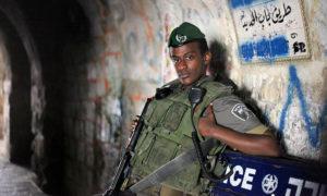 جندي إسرائيلي في القدس - تشرين الأول 2012 (tanya-n.com)