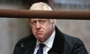 رئيس الوزراء البريطاني بوريس جونسون - 6 أيلول 2019 (AFP)