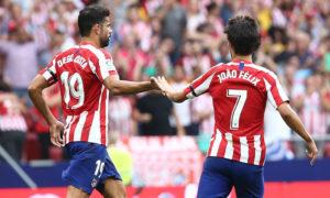 أتلتيكو مدريد في مواجهة الجولة الثالثة أمام أيبار بالدوري الإسباني (أتلتيكو مدريد تويتر)