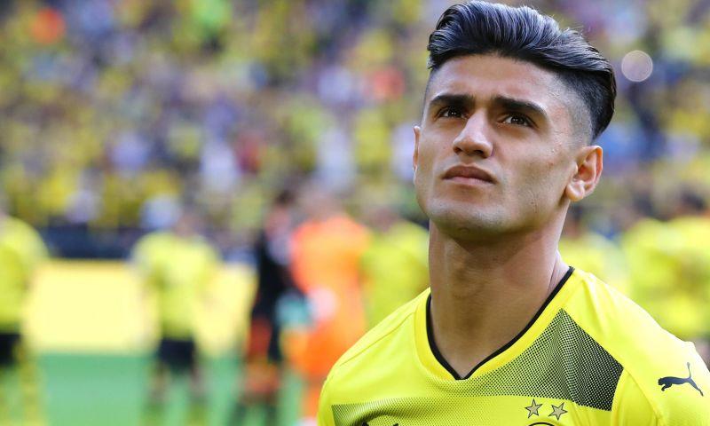 اللاعب الألماني ذو الأصول السورية محمود داوود لاعب نادي بروسيا دورتموند (موقع الدوري الألماني)
